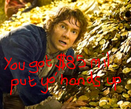 The Hobbit amasses $84.8 million in 3 days