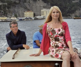 Pierce Brosnan romancing it up in new trailer