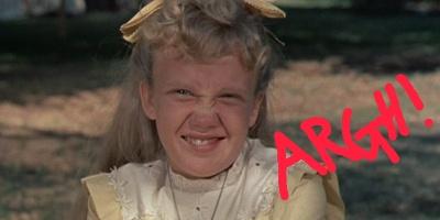 Pollyanna, creepy kids in films