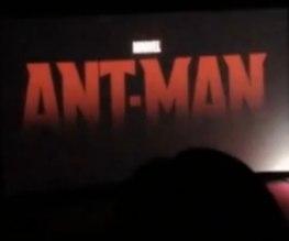 Ant-Man footage leaks!