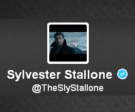 Sly Stallone's Twitter page