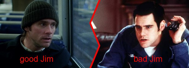 Monday Face/Off – Jim Carrey