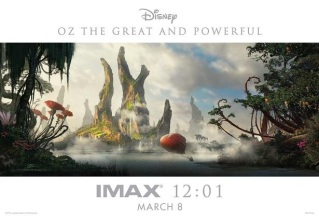 Oz: the Great and Powerful gets new IMAX poster
