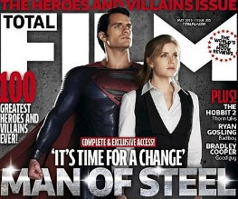 Man of Steel promo image fronts Total Film magazine