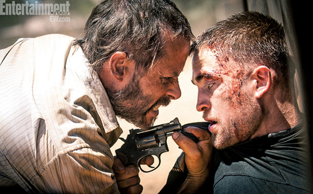 Pattinson and Pearce get bloody in the Outback