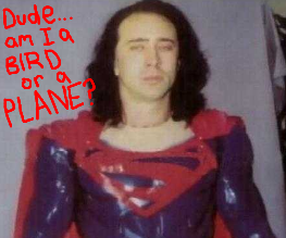 Nic Cage is a super sad man about Superman Lives