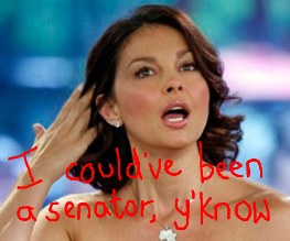 Ashley Judd leaves politics for Divergent