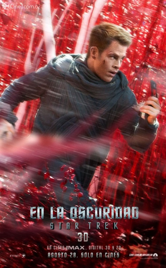 New TV spot and character posters for Star Trek Into Darkness