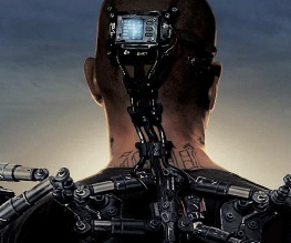 Elysium poster is here and it's amazeballs