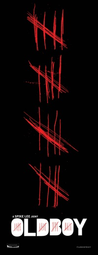 Oldboy remake has a pretty ace first poster