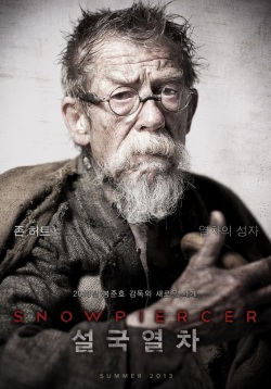 Snowpiercer posters! Come get your Snowpiercer posters!