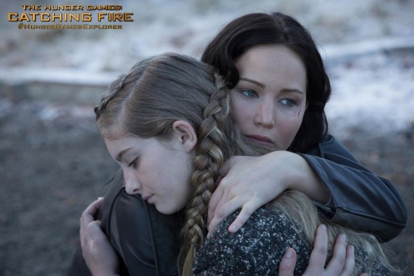 New stills from The Hunger Games: Catching Fire
