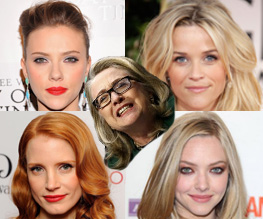 Johansson, Witherspoon, Chastain, Seyfried front-runners for Hillary Clinton biopic