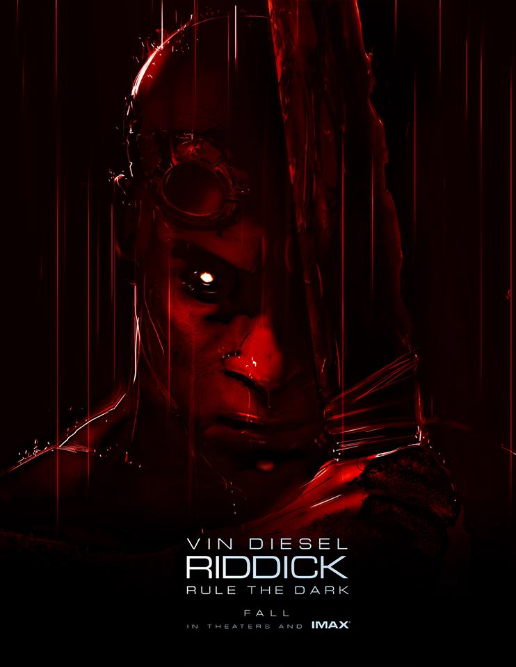 Riddick to premiere at Comic-Con, plus a fancy poster