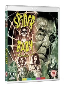 WIN: Spider Baby on DVD