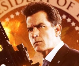 Charlie Sheen goes native in Machete Kills poster