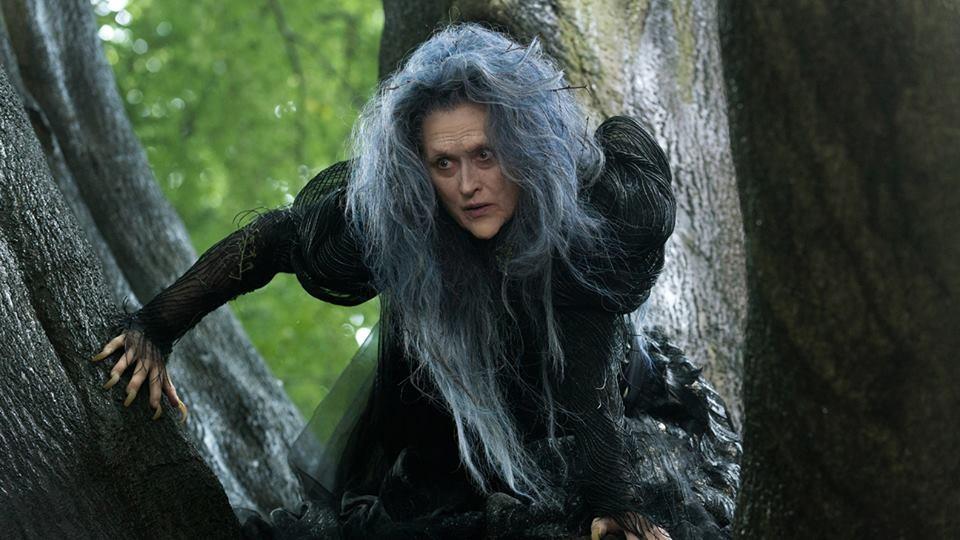Meryl Streep stars in first Into the Woods still
