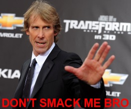Michael Bay attacked on Transformers set