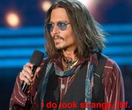 Johnny Depp as Doctor Strange?