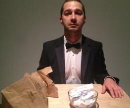 Shia LaBeouf debuts new art exhibit