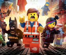 Lego Movie bricks in George Clooney's mouth