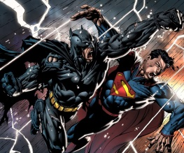 Captain America takes on Batman and Superman
