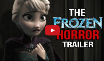 Do you want to build a snowman? Frozen trailer recut as a horror movie