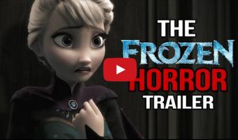 Do you want to build a snowman? Frozen trailer recut as a horror movie